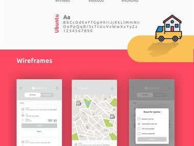 No Broker Vendor app design