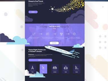 Wish Partner Web Design