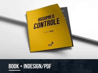 BOOK + INDESIGN/PDF - ASSUMA O CONTROLE