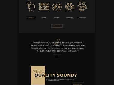 WaveRemedy - Website Design