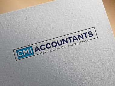 logo for contemporary modern Accountancy firm