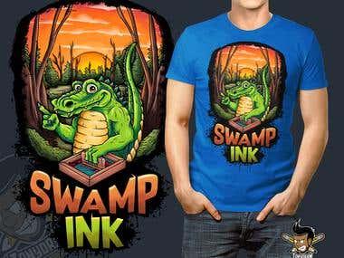 Swamp ink