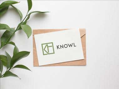 Knowl Logo Design