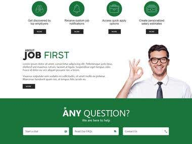 Job First Design