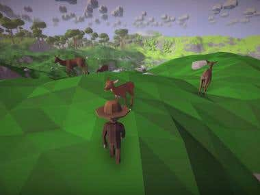 Overlands - Procedurally Low Poly generated game