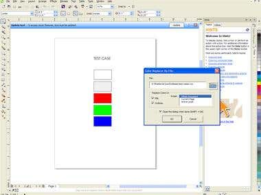 Corel Draw VBA Macro