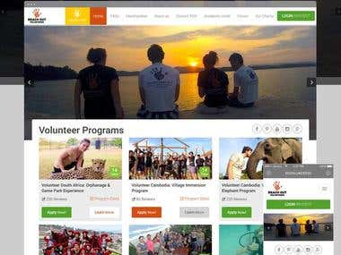 Reach Out Vol Charity: Charity Website