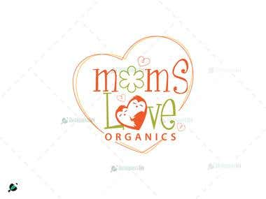 Moms love logo design
