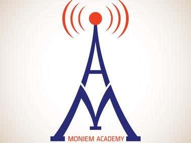 Logo Design for Moniem Academy