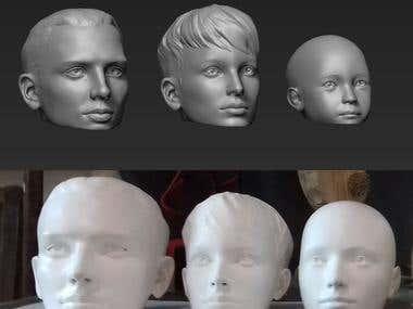 3D modeling + printing for Kasta.ua, online shopping.