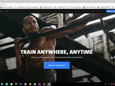 Angular 1.6 + Laravel 5.0 - Freeletics