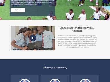 Website for Montessori School