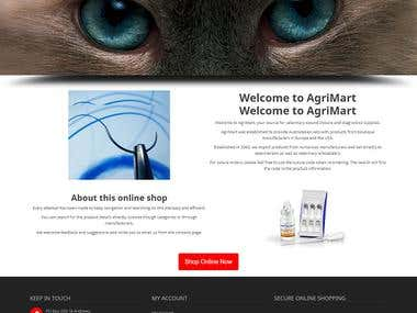 Veterinary website