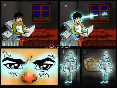 A Short comic Story ..