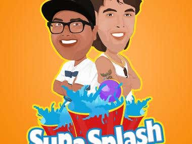 Logo for Splash Bro