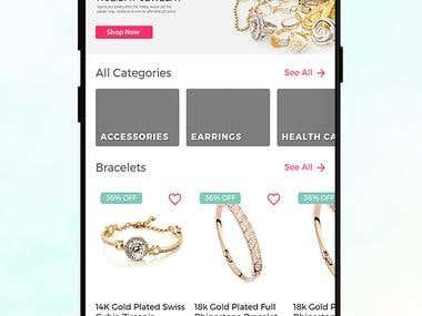 Woocommerce app
