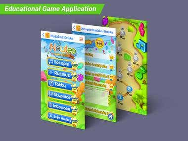 Educational Game Application