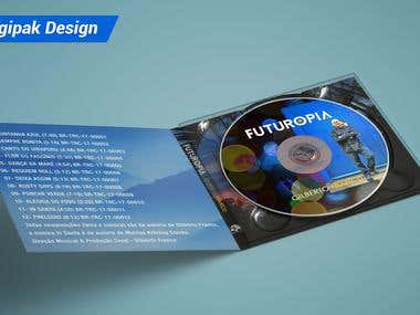 CD Digipak Design