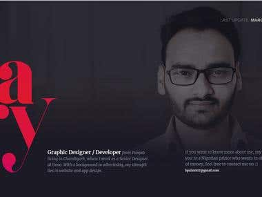 My Personal Website (* Portfolio* )