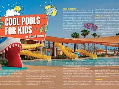 Magazine: Doha Family Article Spreads