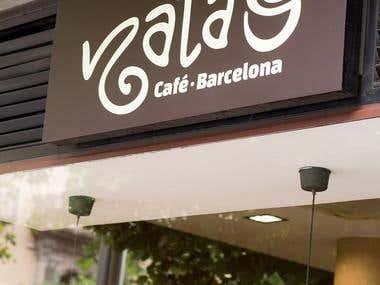 Identidad Natas Café Barcelona