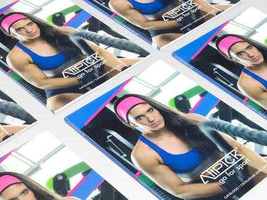 Catálogo de productos deportivos Atipick