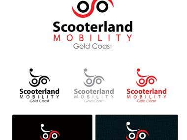 Logo Design for Scooterland Mobility