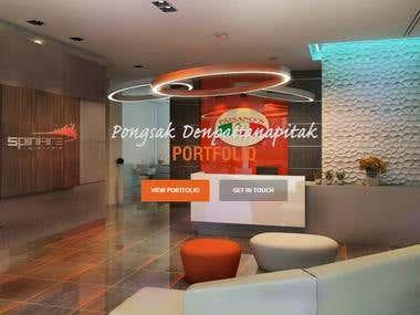 Website for an Interior Design Company- pongsakd.com