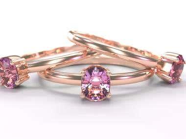 Jewelry Design & Rendering