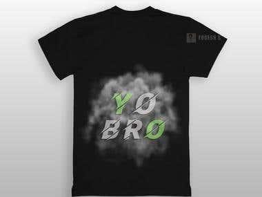 """T-Shirt Design """"Yo Bro"""""""