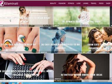 Content writing for Fashion website