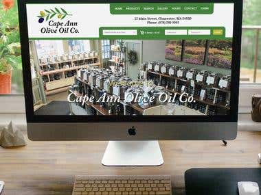 Cape Ann Olive Oil Co. - Magento 1.9