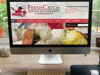 Fresh Catch Seafood & Butcher Shop - Magento 1.9