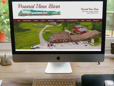 Pownal View Barn - Magento 1.9