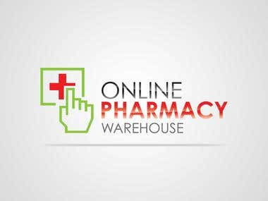 Logo Design for Online Pharmacy Warehouse