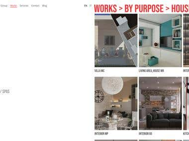 ADN Studio website