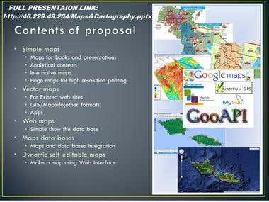 Maps&Cartography presentation
