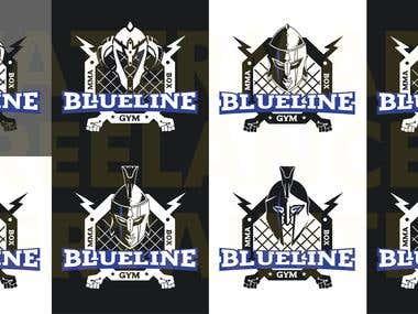 Logo Blueline MMA