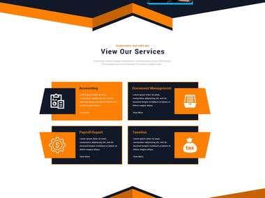 Accountex Corporation Website Development