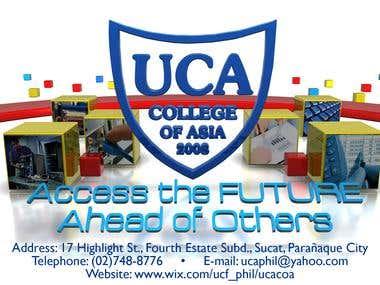UCA College of Asia Ensogo Ad