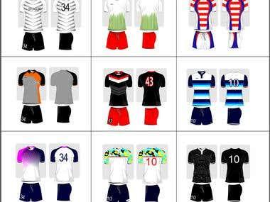 Soccer jersey design