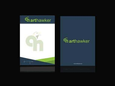 Business card and pad Design