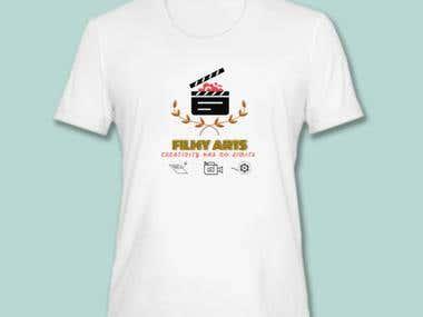 LOGO Design Tshirt FilmyArts