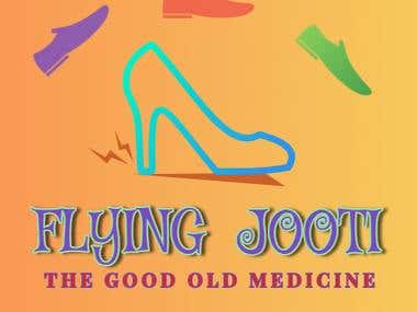 LOGO Design Flying Jooti entertainment