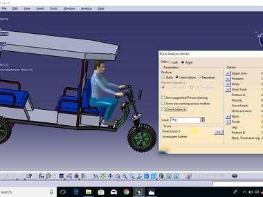 3D design and Analysis