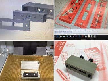 Magnetic sensor 3d printer