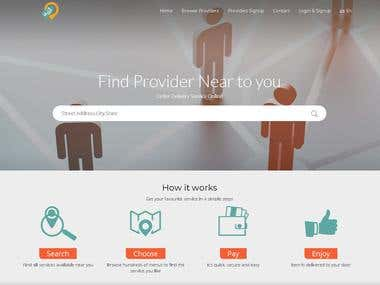 labeh client site for Service Provider&Drivers
