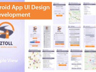 App design sample view