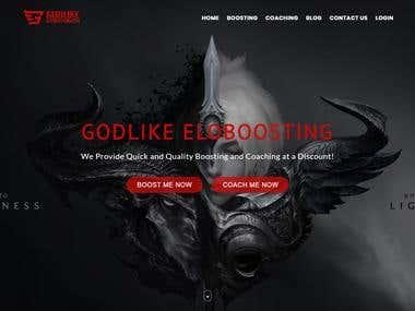 Godlike - Custom Web Solution