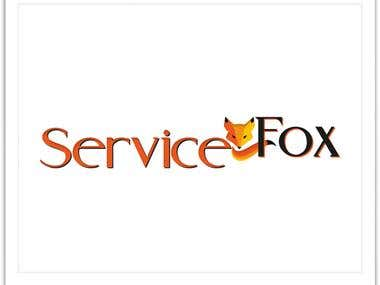 Service Fox Logo design